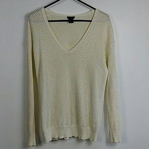 Ann Taylor v neck sweater